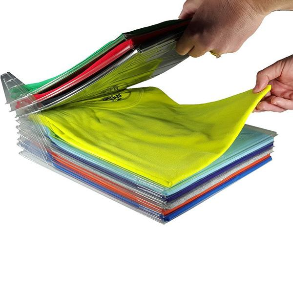 EZSTAX The Perfect Clothes Organizer: Interlocking Dividers To Keep Stacks Of Clothing Clean & Kempt - Value Grabs