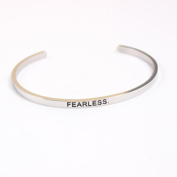 FEARLESS. Mantra Bracelet - Value Grabs