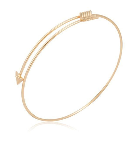Gold Arrow Bangle - Value Grabs