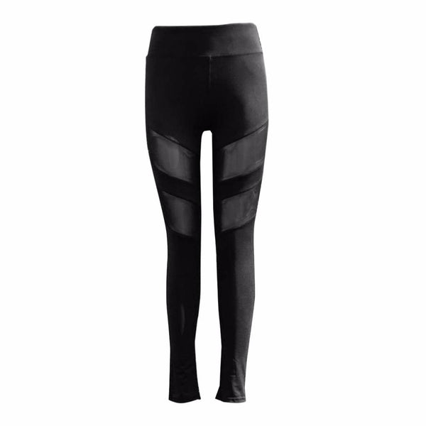 HOT Women's Mesh Black Leggings - Value Grabs