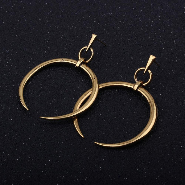 Large Dangle Hoop Loop Earrings - Value Grabs