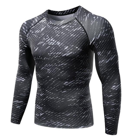 Men's Long Sleeve Compression Shirt - Value Grabs