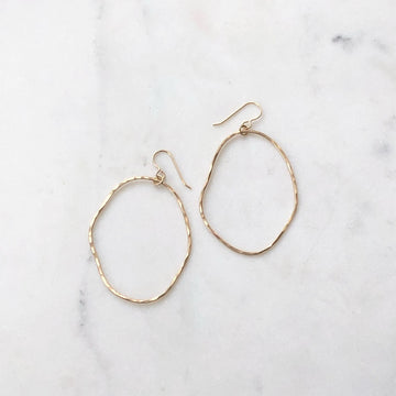 Form Hoops - Token Jewelry