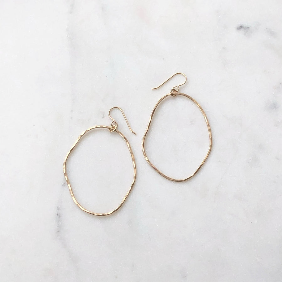 Form Hoops - Token Jewelry Designs