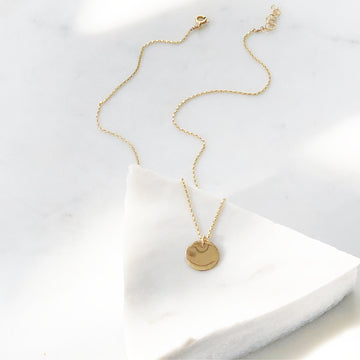 Mini Coin Necklace - Token Jewelry