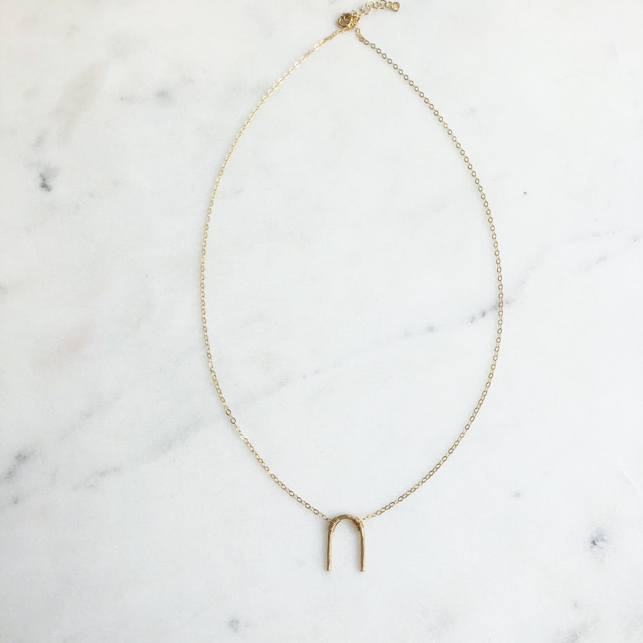 Arc Necklace - Token Jewelry Designs