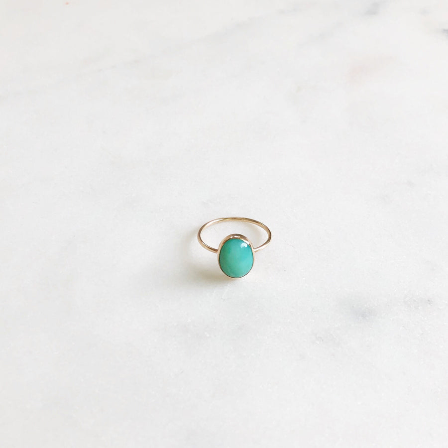 Peruvian Opal Ring - Token Jewelry Designs