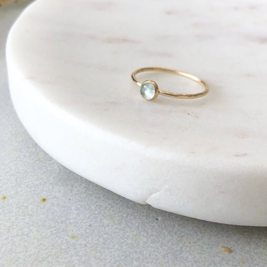 Aquamarine Ring - Token Jewelry Designs