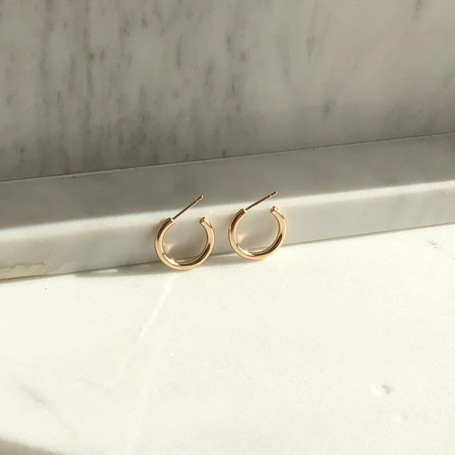 Purity Hoops - Token Jewelry Designs