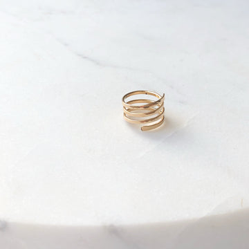 Spring Midi Ring - Token Jewelry Designs