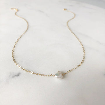 Freshwater Pearl Necklace - Token Jewelry Designs
