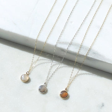 Agate Necklace - Token Jewelry