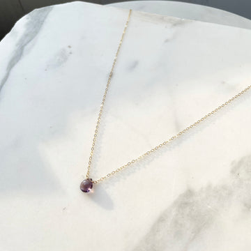 Amethyst Necklace - Token Jewelry