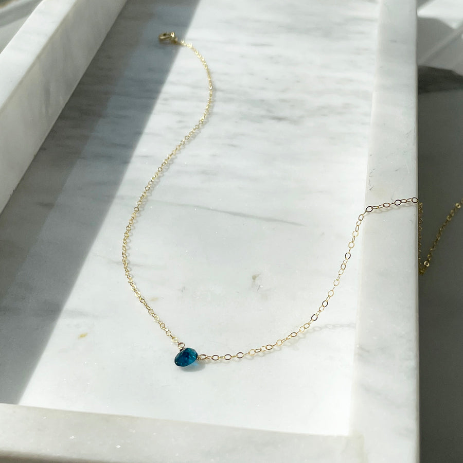 Apatite Necklace - Token Jewelry