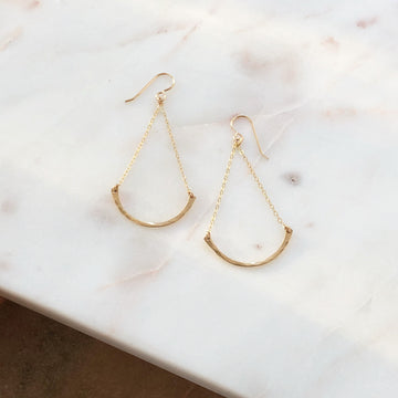 Trapeze Earrings - Token Jewelry