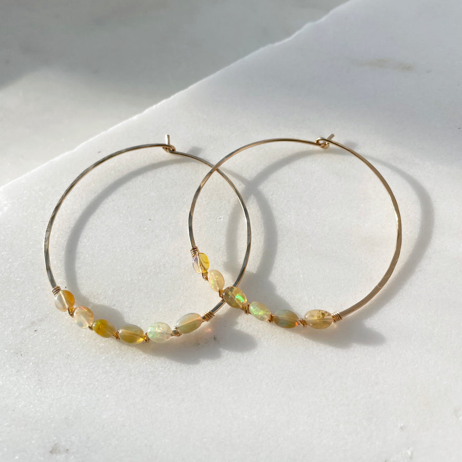 Calida Hoops - Token Jewelry