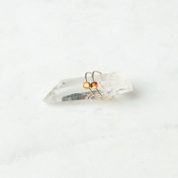 Fire Opal Ring - Token Jewelry Designs