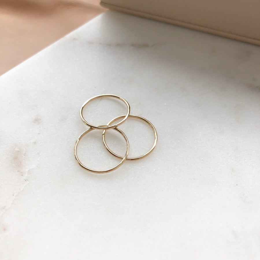 Stacking Ring - Token Jewelry Designs
