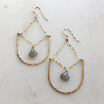 Aurora Earrings - Token Jewelry