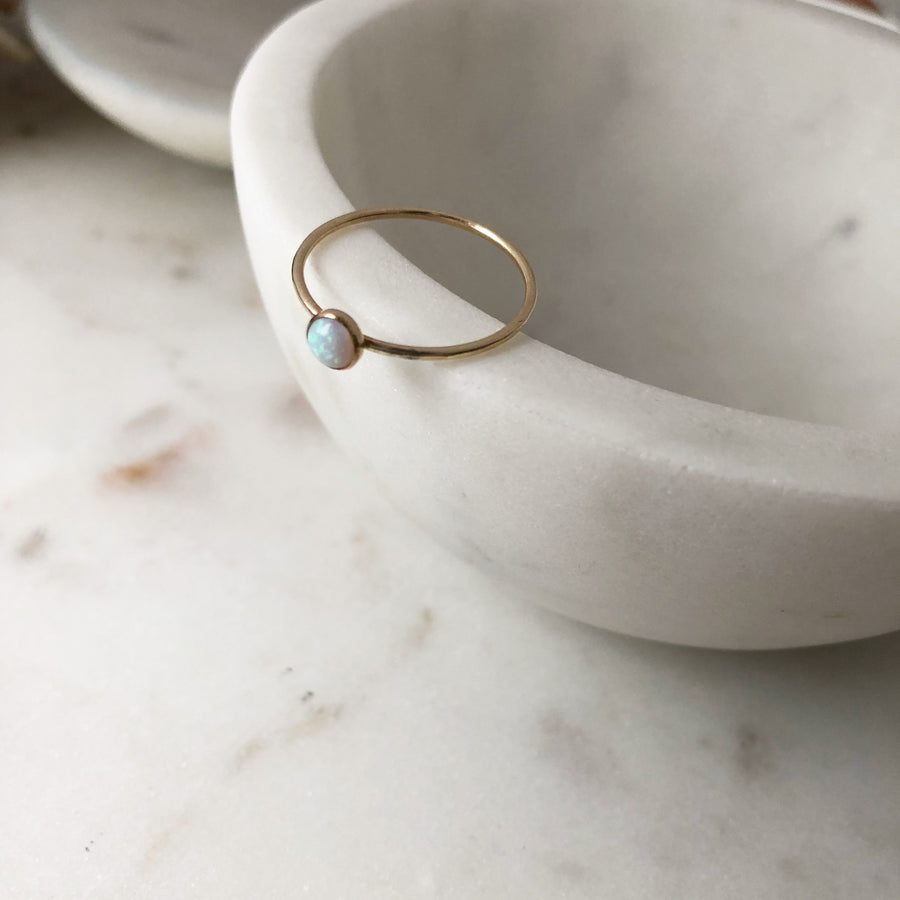 Opal Ring - Token Jewelry Designs