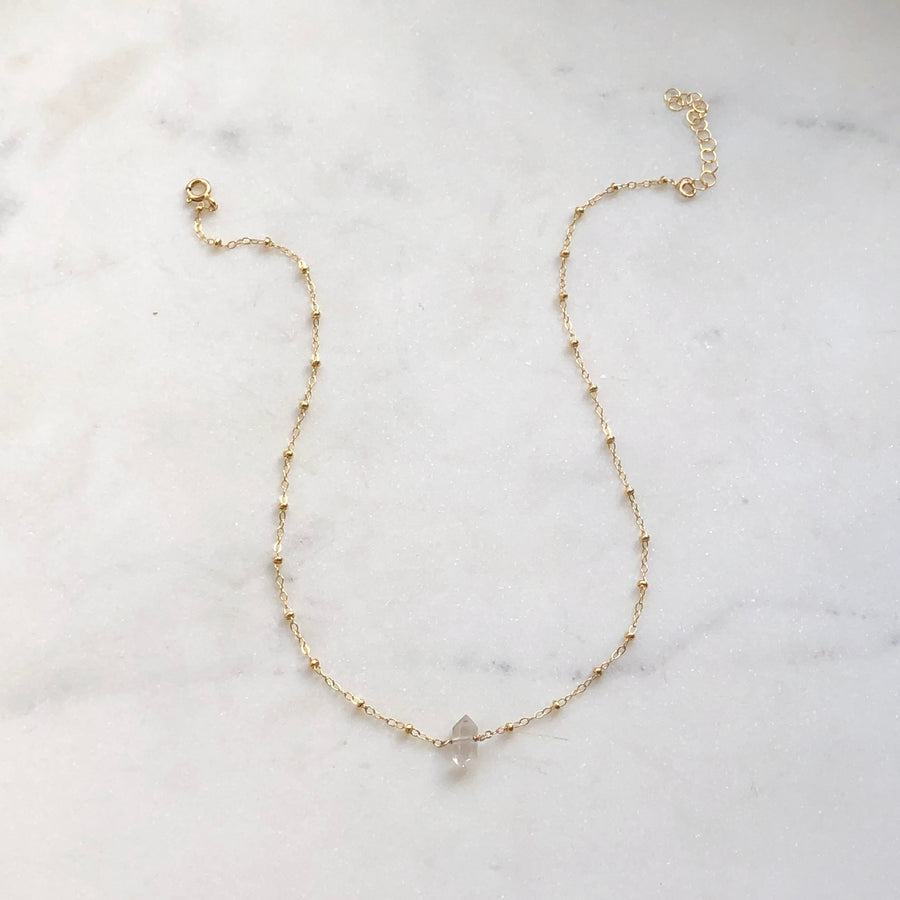 Herkimer Choker - Token Jewelry Designs