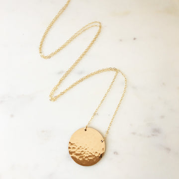 Saturn Necklace - Token Jewelry