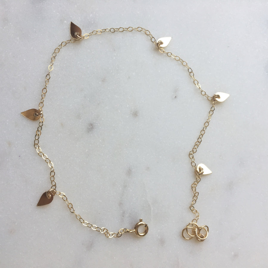 Pixie Anklet - Token Jewelry Designs