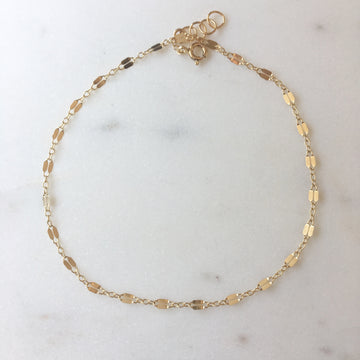 Sylvie Anklet - Token Jewelry Designs