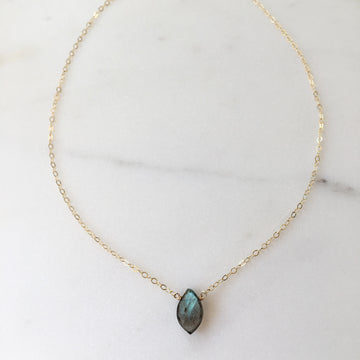 Marquise Necklace - Token Jewelry