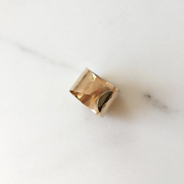 cuff ring statement ring