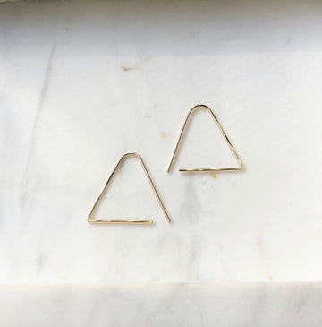 Sunday Earrings - Token Jewelry Designs