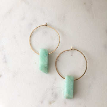 Rio Hoops - Token Jewelry