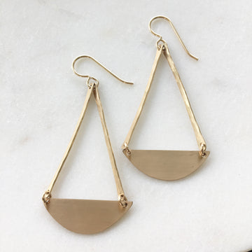 Pendulum Earrings - Token Jewelry Designs