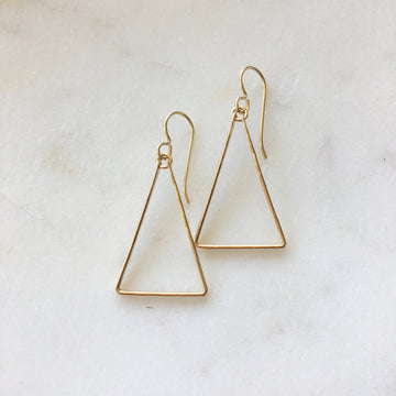 Isosceles Earrings - Token Jewelry Designs