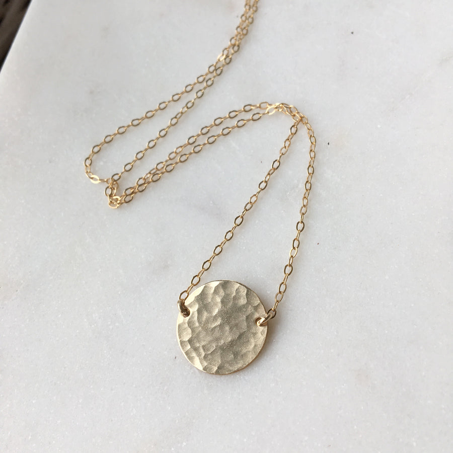 Full Moon Necklace - Token Jewelry