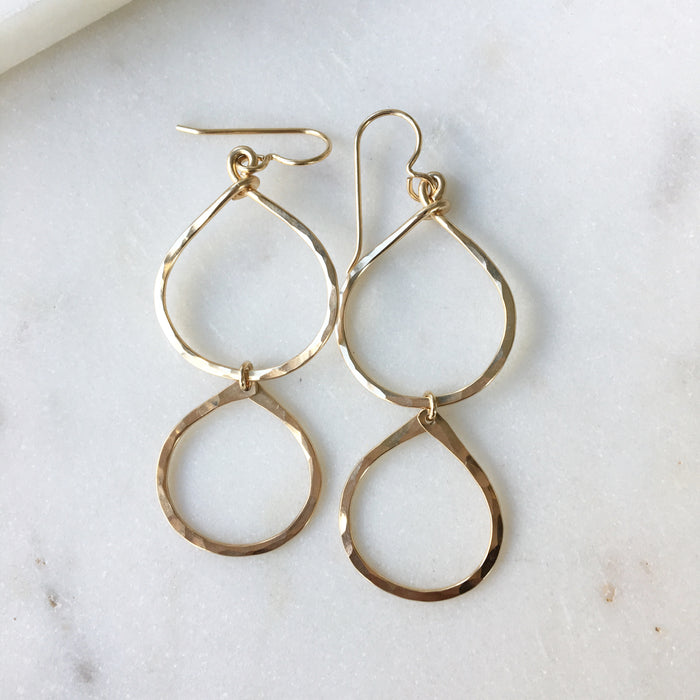 Stacked Hoop Earrings