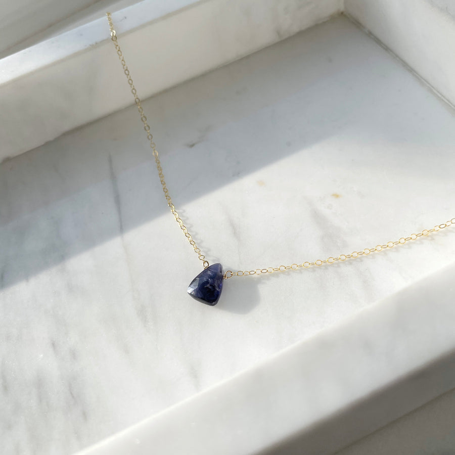 Iolite Necklace - Token Jewelry
