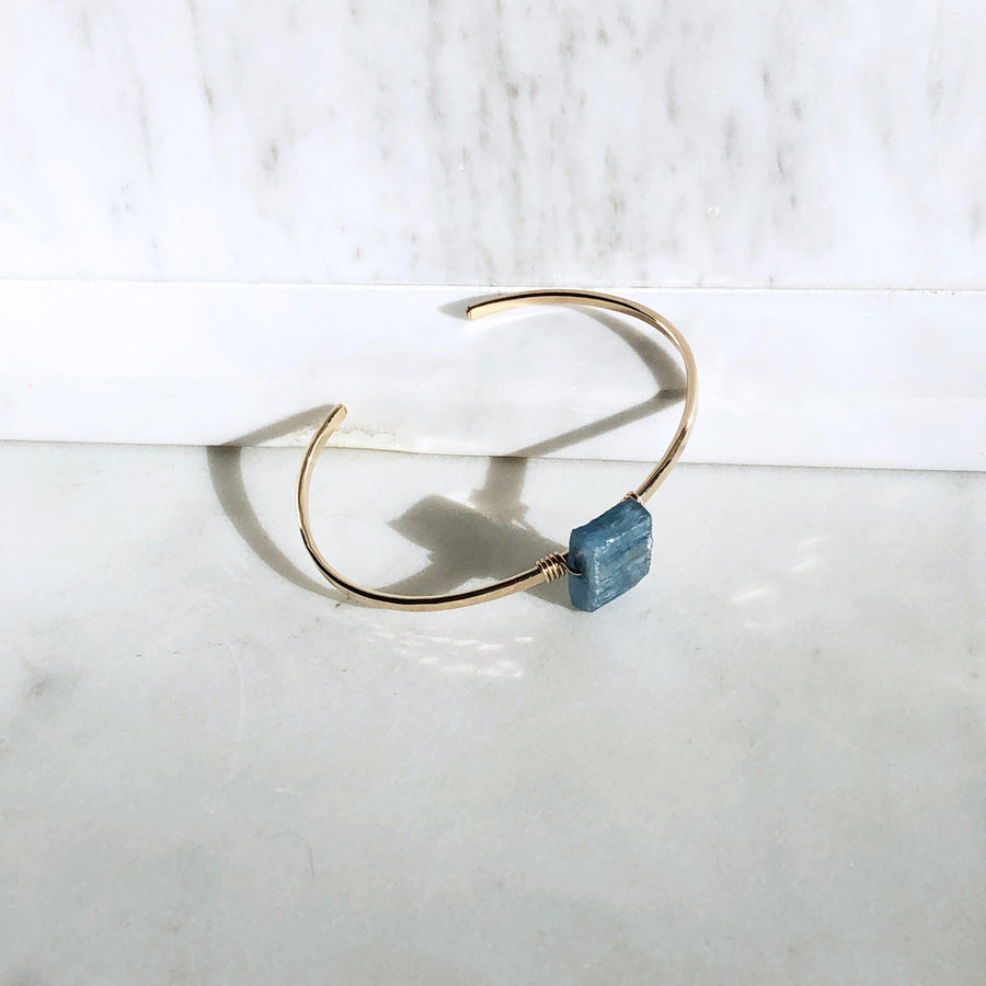 Kyanite Cuff - Token Jewelry Designs