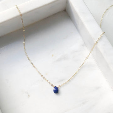 Lapis Necklace - Token Jewelry