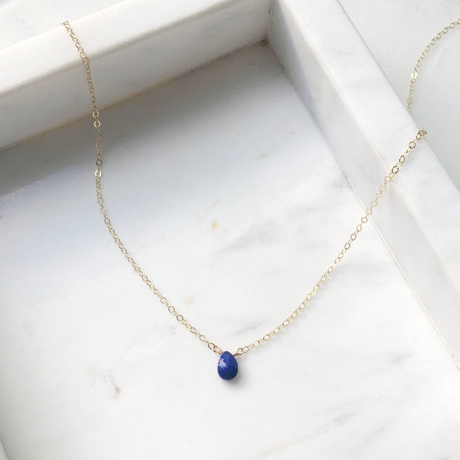 Lapis Necklace - Token Jewelry Designs