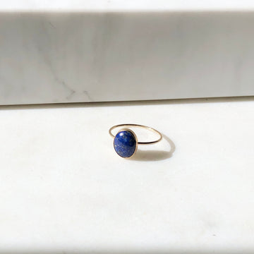 Lapis Ring / Final Sale - Token Jewelry Designs