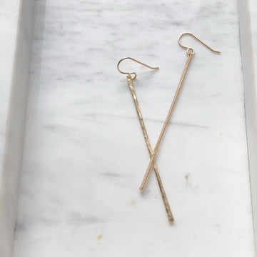 Matchstick Earrings - Token Jewelry Designs