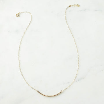 Minimal Necklace - Token Jewelry Designs