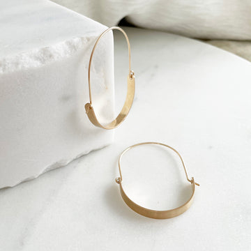 Paloma Hoops - Token Jewelry