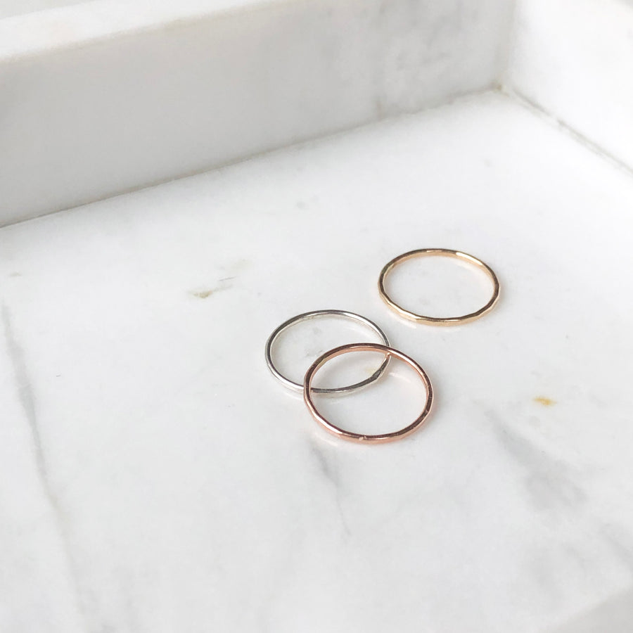 Midi Stacking Ring - Token Jewelry Designs