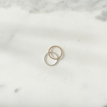 Spiral Midi Ring - Token Jewelry