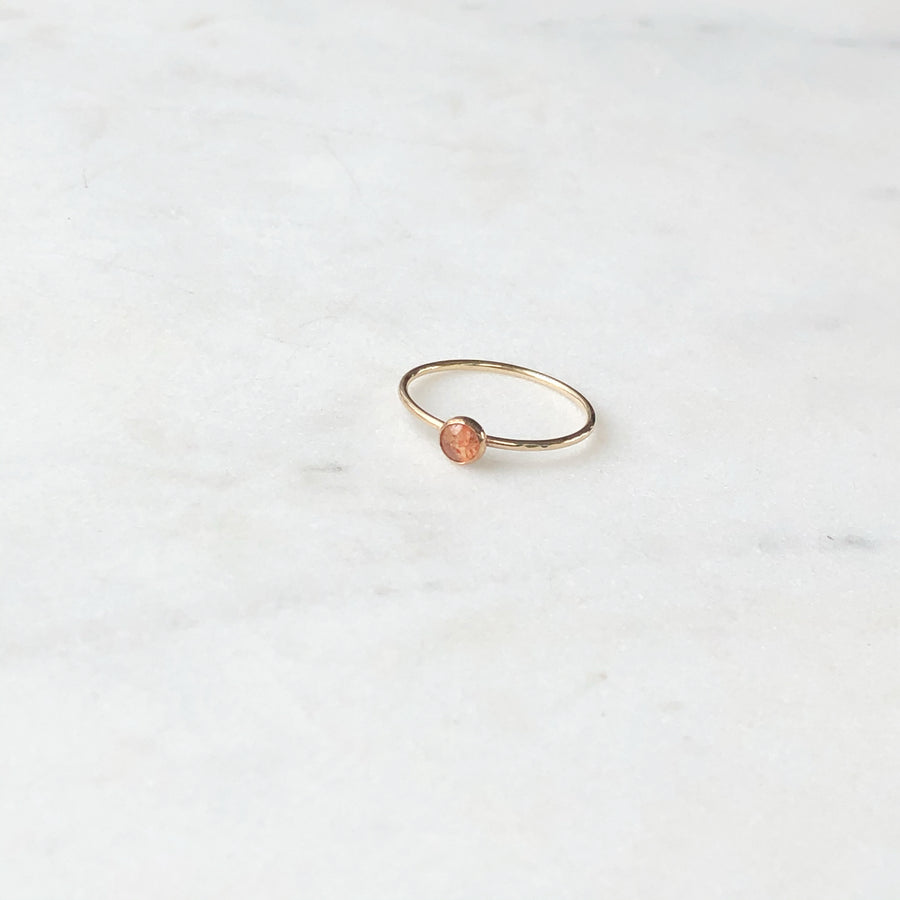 Sunstone Ring - Token Jewelry Designs
