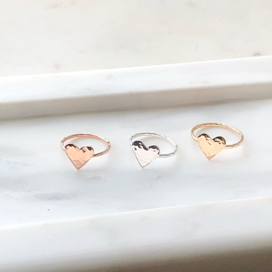 Sweetheart Ring / Final Sale - Token Jewelry Designs