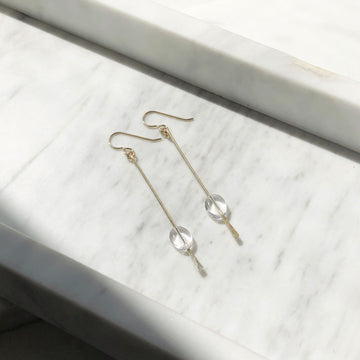 Water Drop Earrings - Token Jewelry Designs