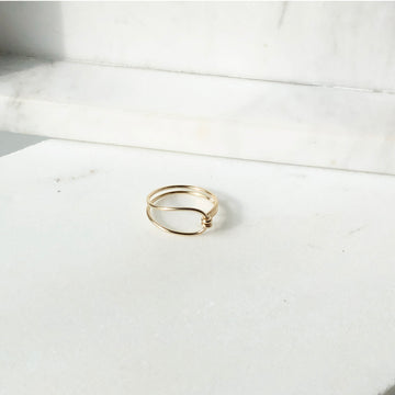 Barrel Ring - Token Jewelry